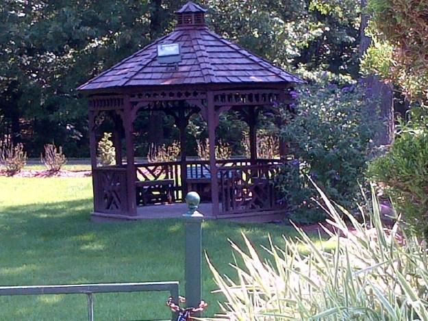 One of many Gazebos at Regency Gardens