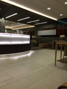inside of lobby