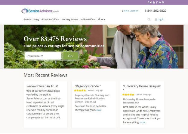 SeniorAdvisor Homepage-2
