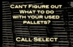 Used and old Pallet Removal Call Select