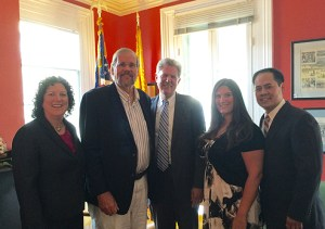 Photo of Congressman Pallone and NJPHA Executive Board