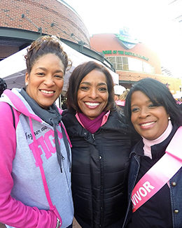 Pink Ribbon Driven Team