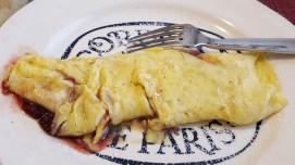 Jam omelet