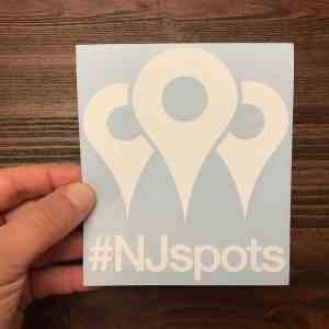 #NJspots Logo Die-Cut