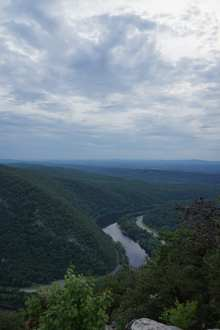 Overlooking the Delaware Water Gap