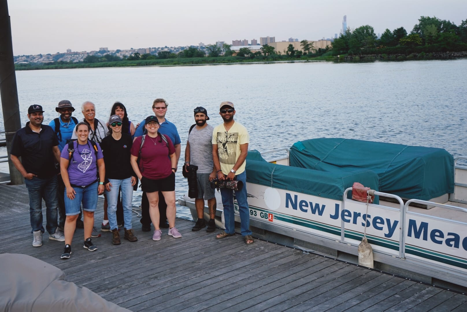 Meetup Wrapup: Pontoon Tour of the Meadowlands