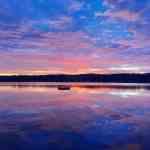Sunrise over Lake Owassa