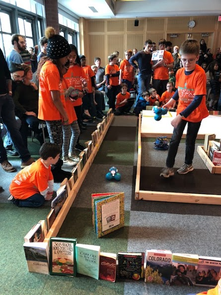 Johnson Park Elementary Makers Day Robotics Competition