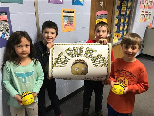 First Grade Bee Bots!