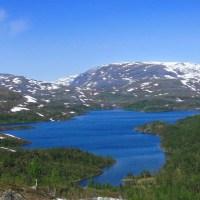 Fjällvandring norr om Riksgränsen, ur Tomas perspektiv.