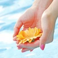 ネイル花 水 イメージ