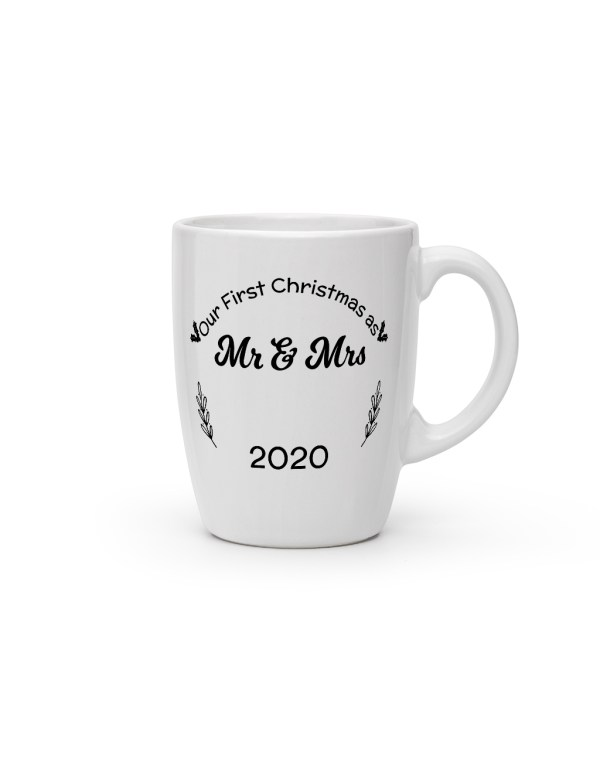 personalized-christmas-cone-mugs