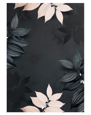 Foliage-Black-welcome-board