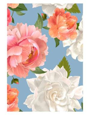 Mixed-floral-welcome-board