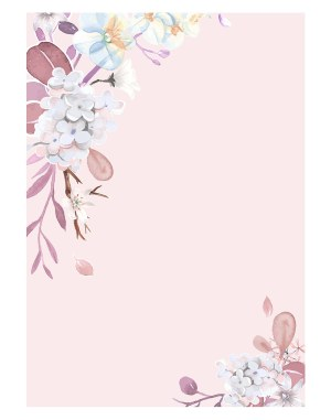 Pink-floral-welcome-board