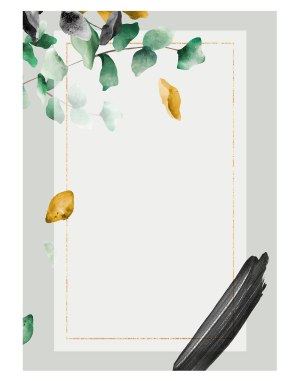 eucalyptus-leaf-welcome-board
