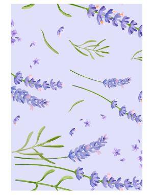 lavender-flower-welcome-board