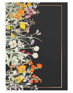 vintage-flower-gold-welcome-board