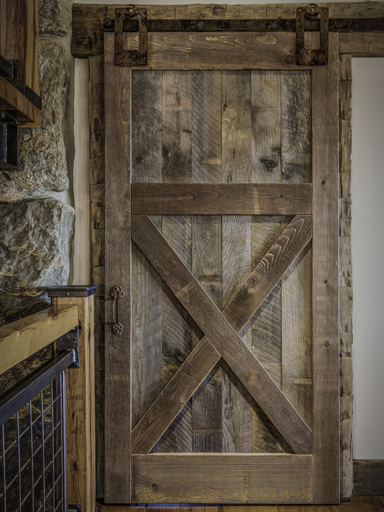 Interior Design Barn Doors Recycled Pieces In Interior