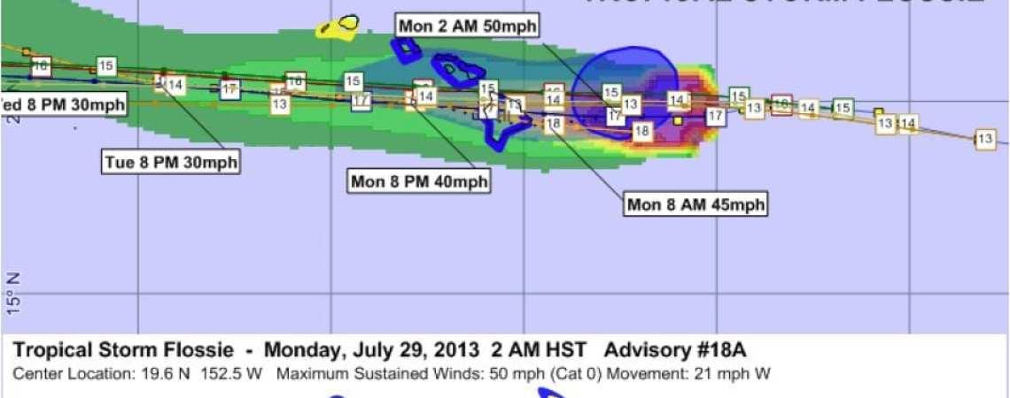 Tropical Storm Flossie 18A