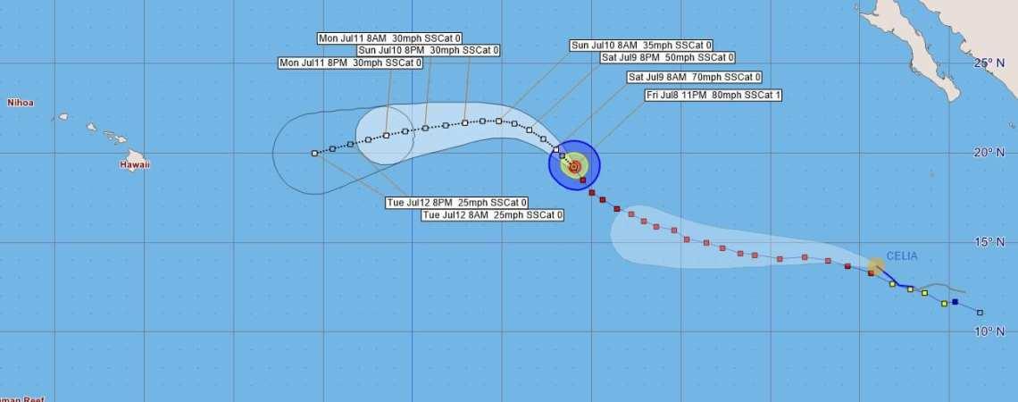Hurricane Blas Advisory 25
