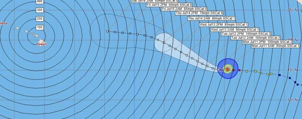 Hurricane Celia Advisory 19