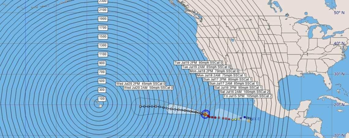 Hurricane Darby Advisory 17