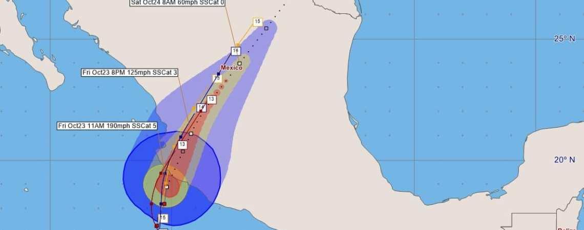 Hurricane Patricia Advisory 16
