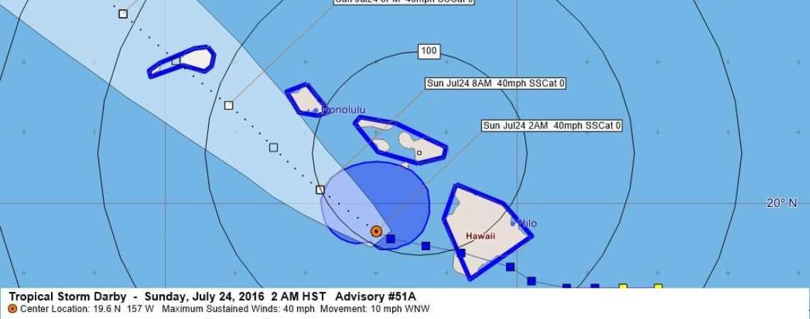 Tropical Storm Darby Advisory 51A