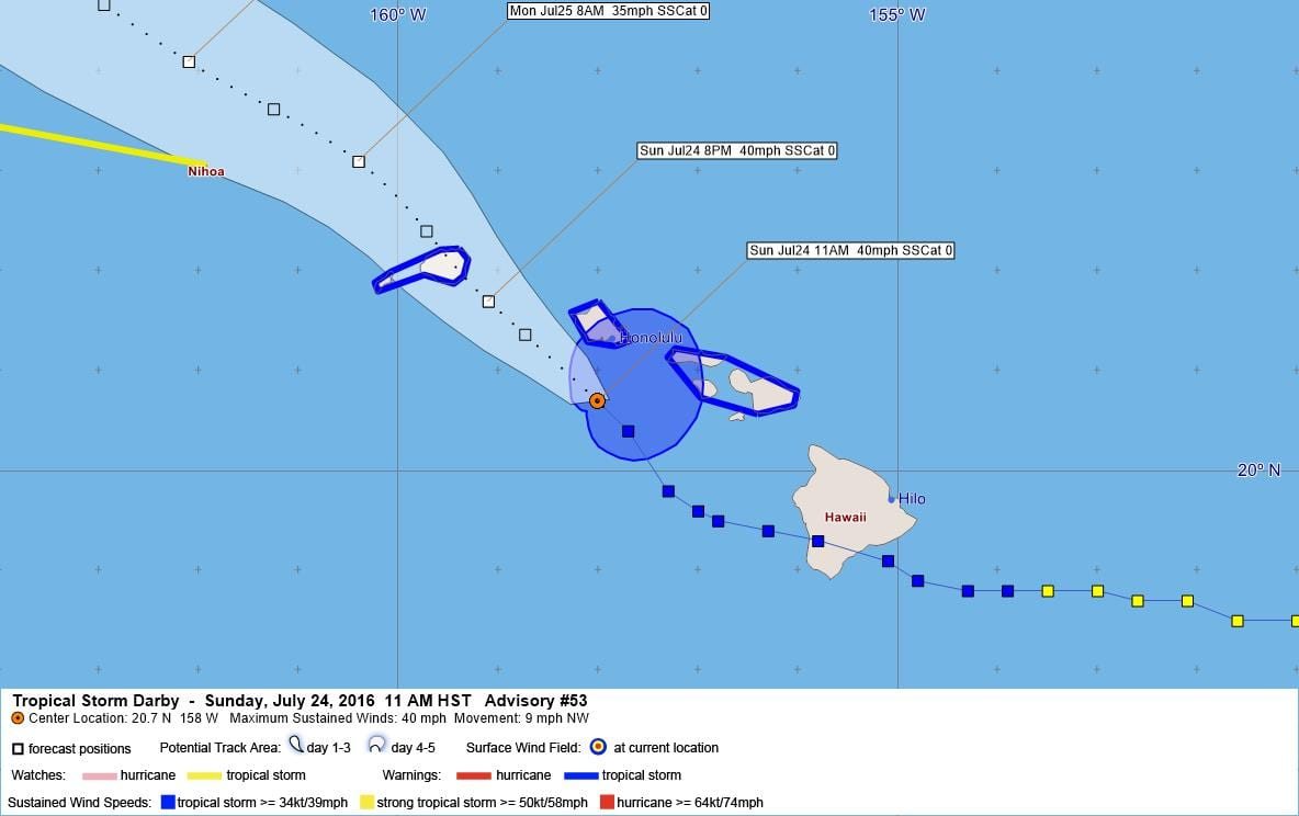 Tropical Storm Darby Advisory 53