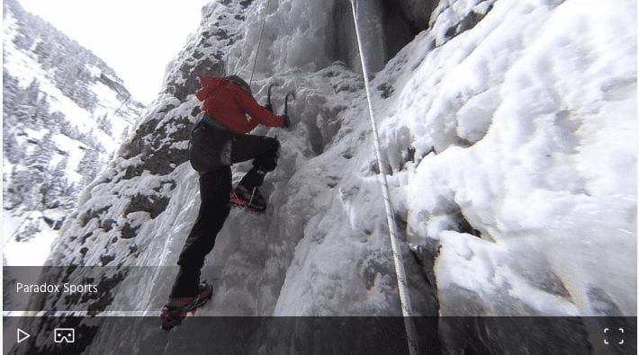Ice Climbing Panoramic 360 VR