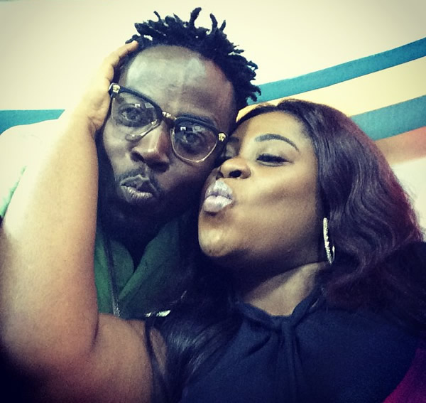 Kwaw Kese and Amanda Jissih
