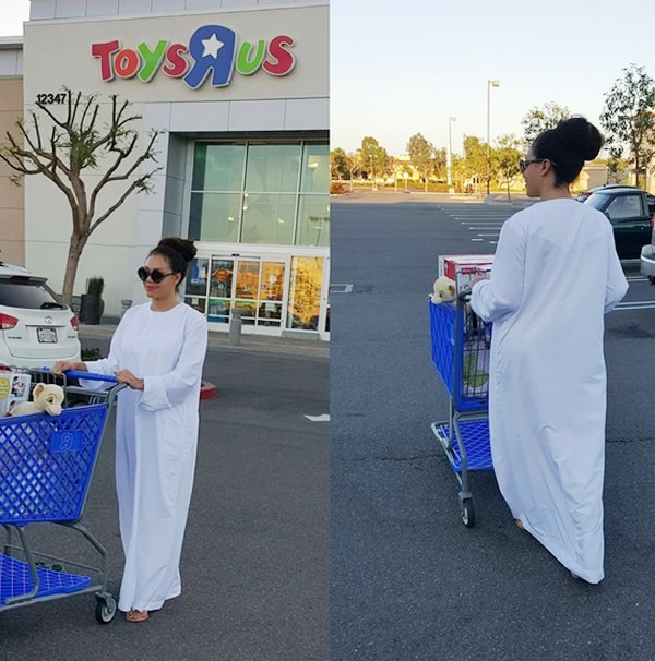 Nadia Buari toys shopping