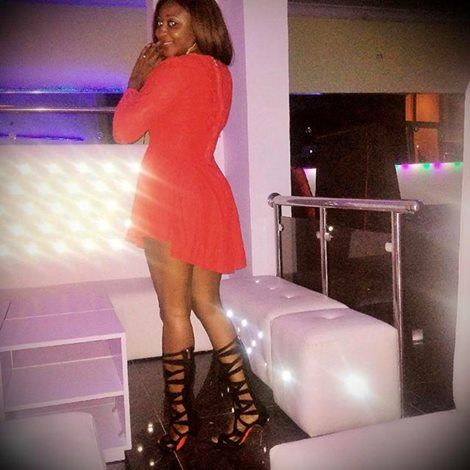 Ini Edo inside her night club