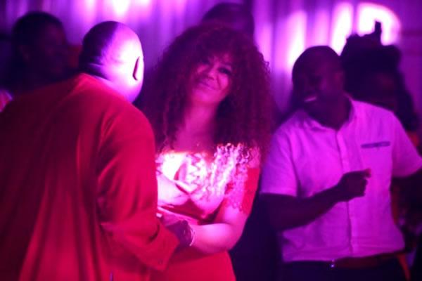 Chief Dele and Nadia buari dancing 5
