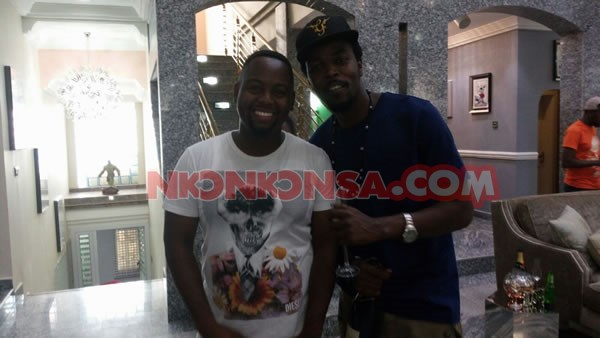Kwaw and Despite family member 2