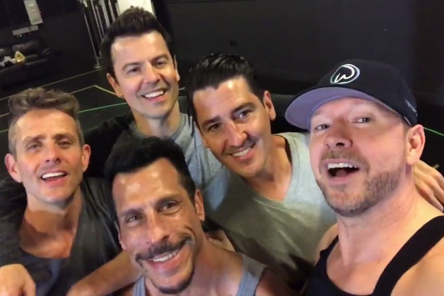 New Kids On The Block The Plaza Today Show Citi Concert Series Summer 2017