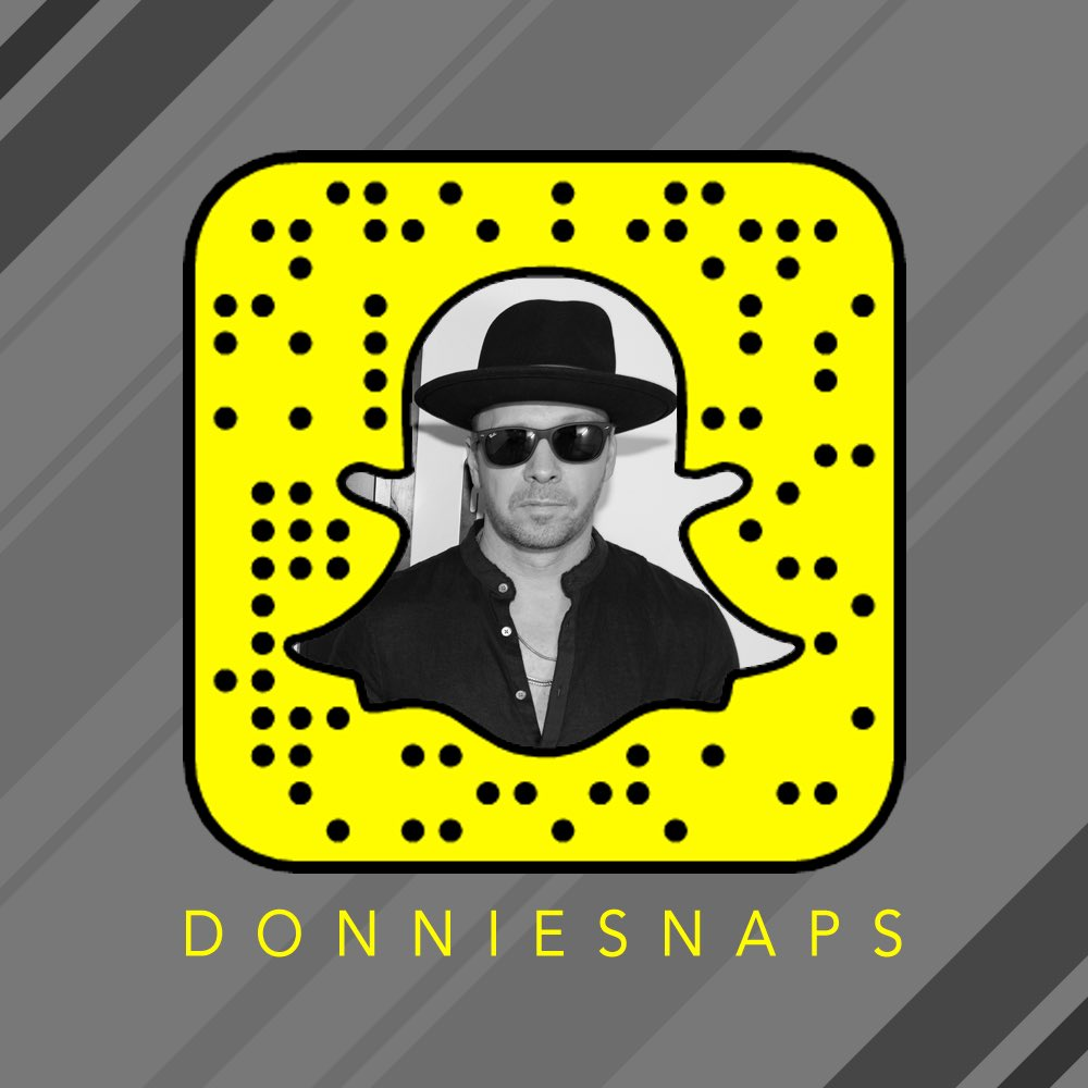 donnie wahlberg snapchat donniesnaps