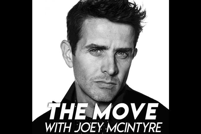 Joey McIntyre The Move Art Work