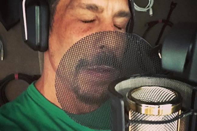 Danny Wood In The Studio cc @DannyWoodOfficial on Instagram, Nov 06, 2017