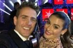 Joey McIntyre Lea Michele The Wonderful World of Disney- Magical Holiday Celebration
