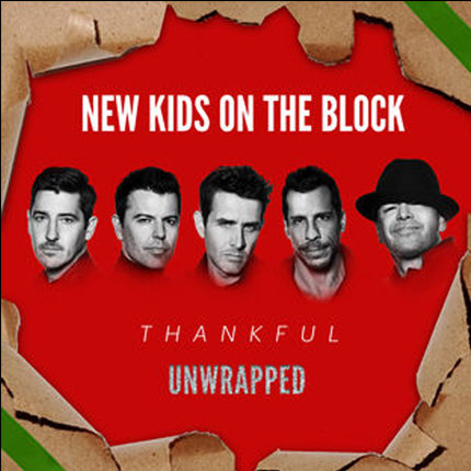 nkotb unwrapped thankful cd cover