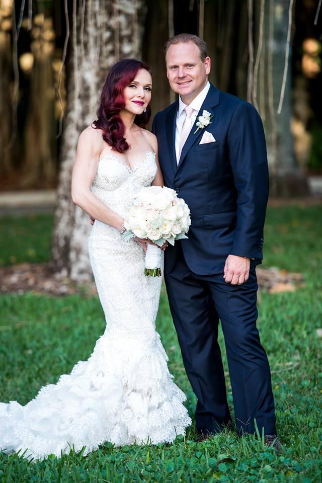 Wedding at Ringling Ca' d'Zan Mansion