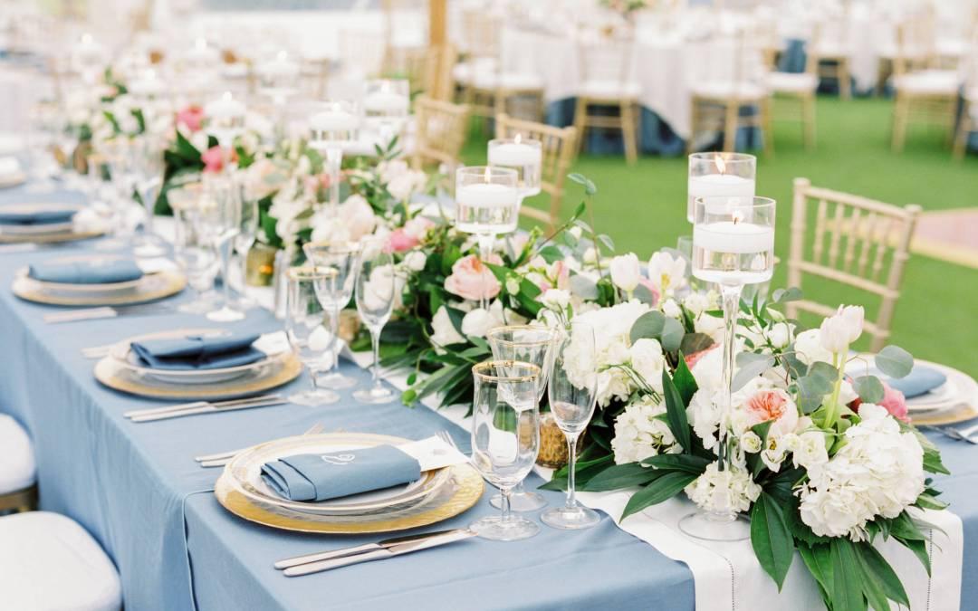 NK Productions Wedding Spotlight: A Beach Wedding at the Gasparilla Inn in Boca Grande