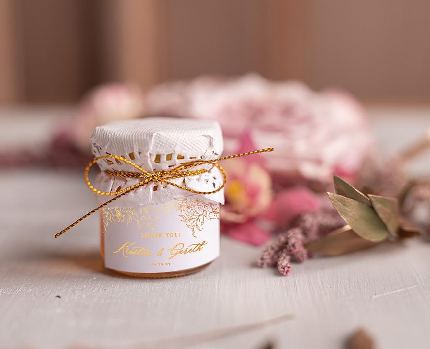Wedding Favor Honey