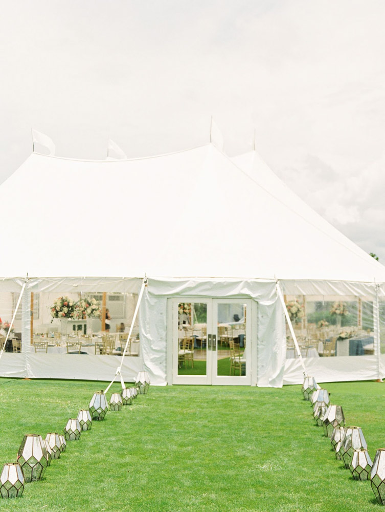 White Tent Reception in Boca Raton, FL
