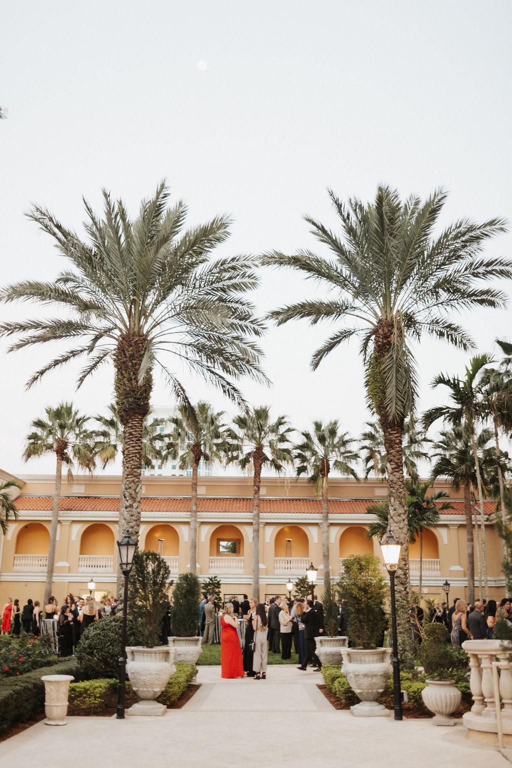Reception at the Ritz-Carlton