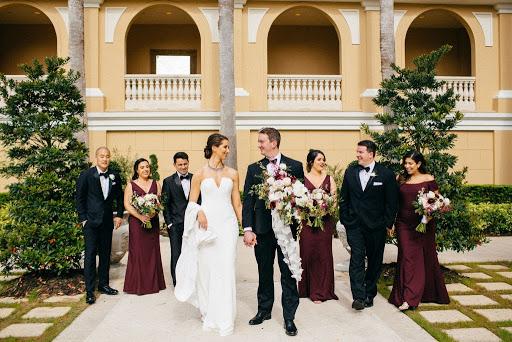 Wedding Party at Ritz-Carlton