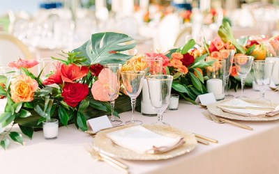 Setting the Table – Wedding Place Settings