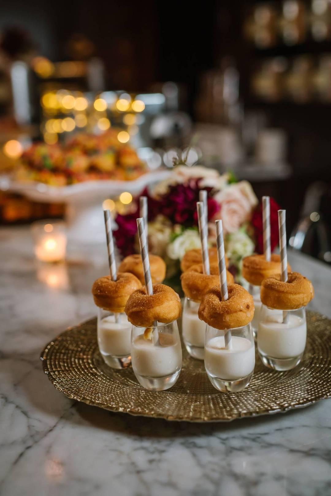 reception desert bar